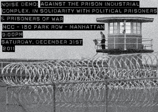Noise Demo in Solidarity With Political Prisoners & Prisoners of War